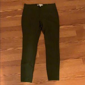 old navy olive green stevie pants